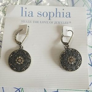 Lia Sophia earrings new in packaging